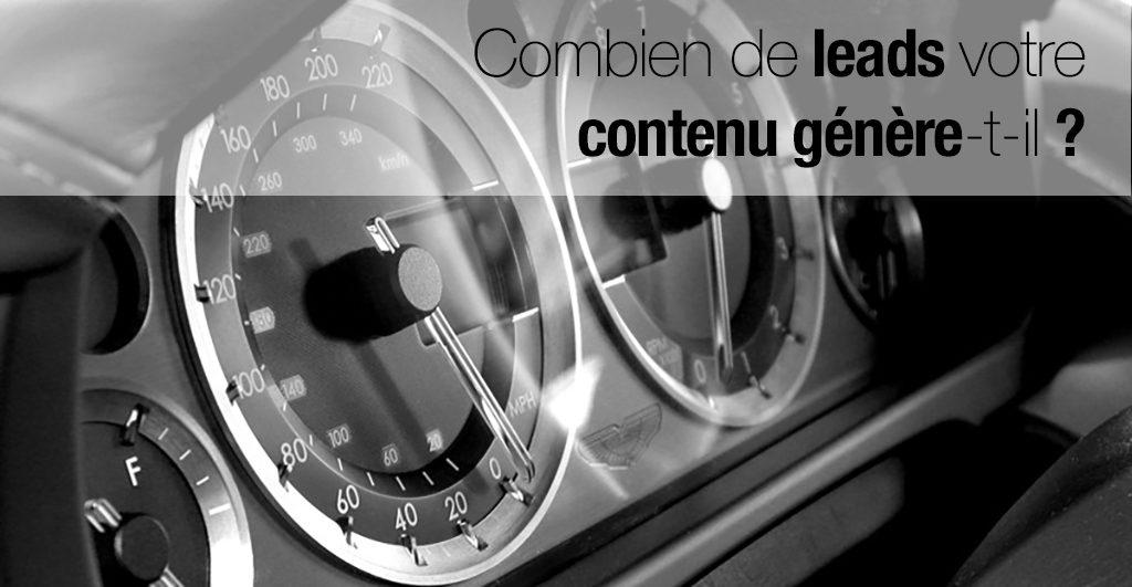 Mesurer l'impact de votre content marketing sur la génération de leads