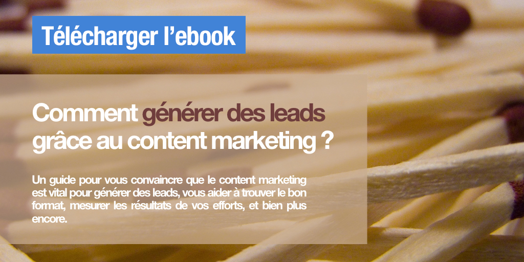 Générez des leads content marketing