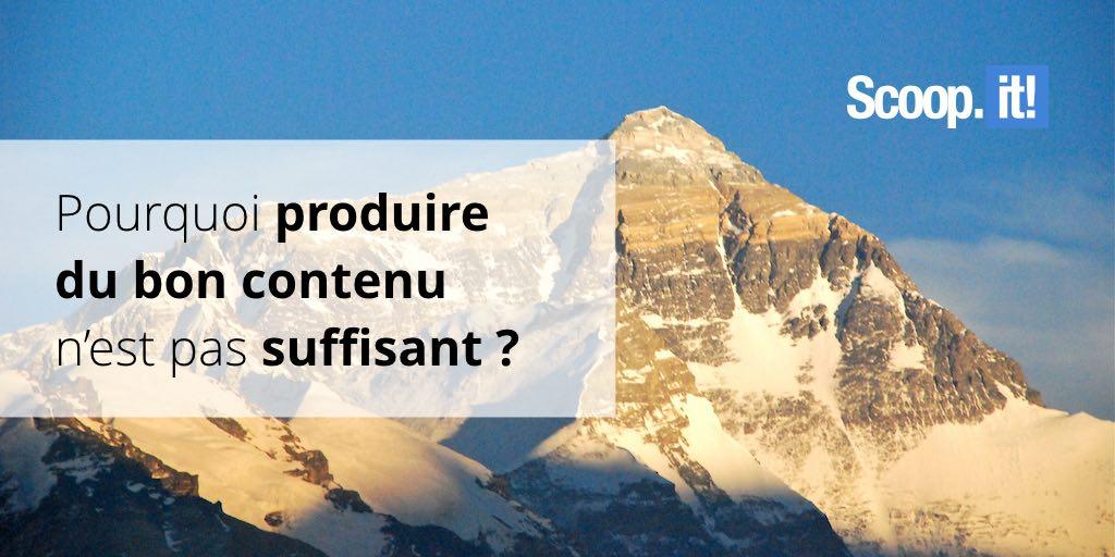 Pourquoi produire du bon contenu n'est pas suffisant ? et que faire ?