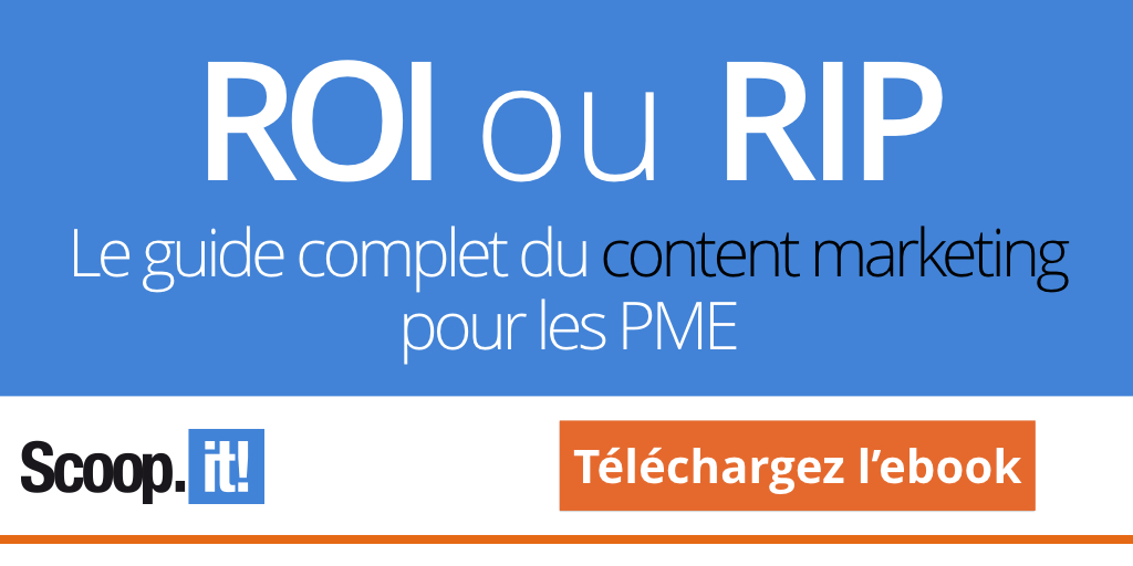 Téléchargez notre ebook - ROI or RIP, le guide du lean content marketing pour les PME
