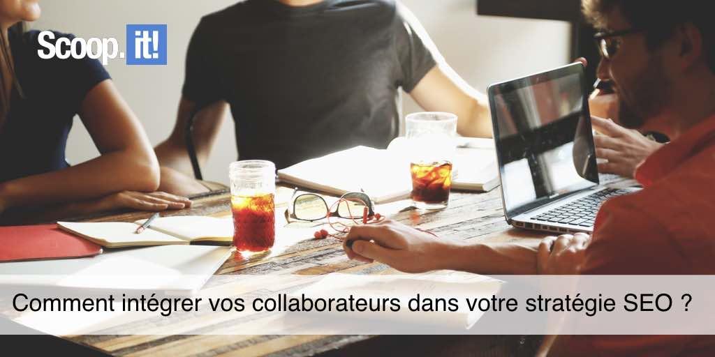 Intégrer collaborateur stratégie SEO