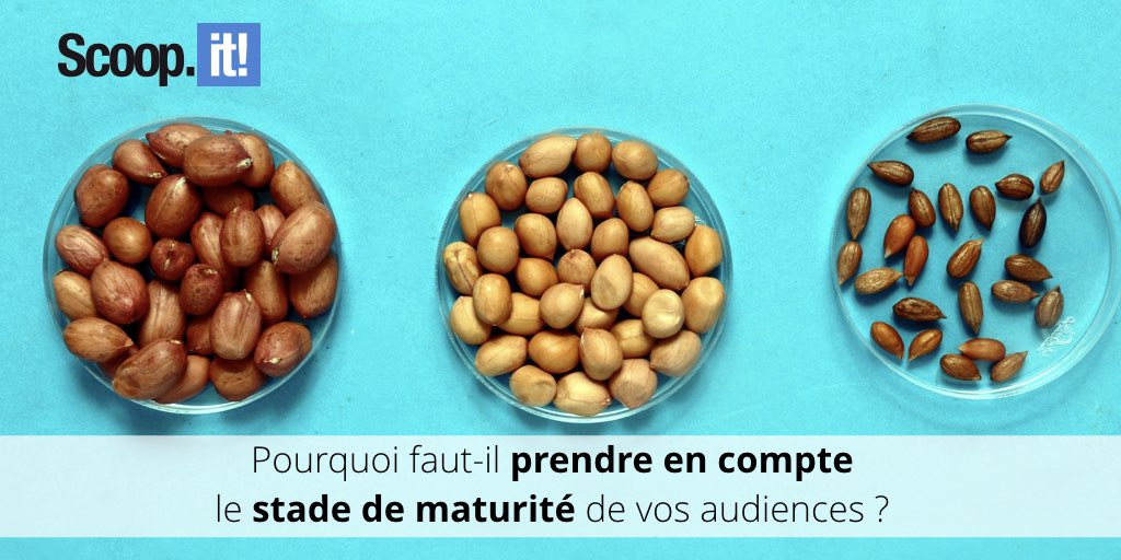 Prendre en compte stade de maturité content marketing