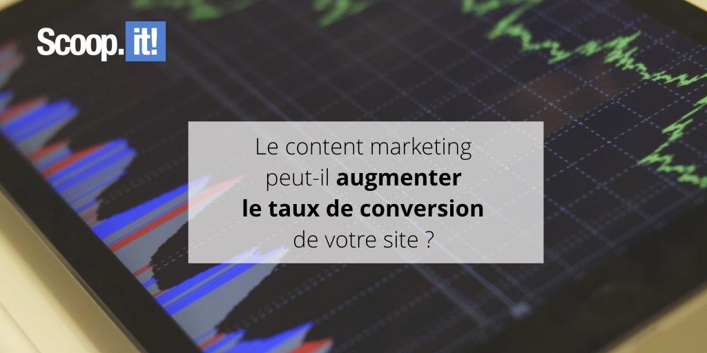 Le marketing de contenu peut-il augmenter le taux de conversion