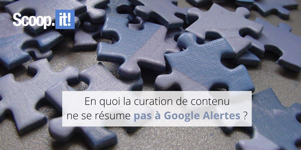 En quoi la curation de contenu ne se résume pas à Google Alertes?
