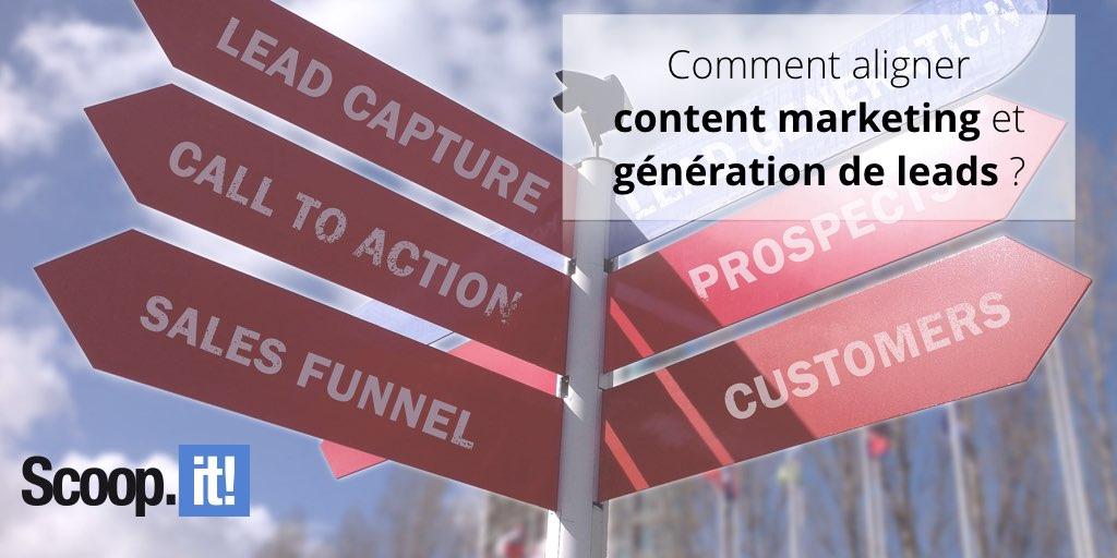 Comment aligner content marketing et génération de leads ?