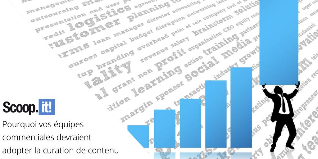 Pourquoi vos équipes commerciales devraient adopter la curation de contenu