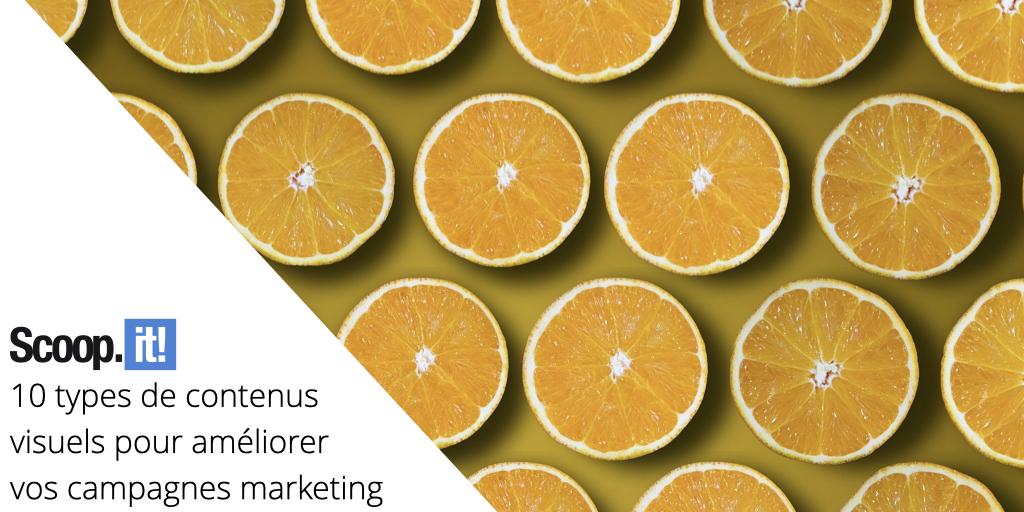 10 types de contenus visuels pour améliorer vos campagnes marketing