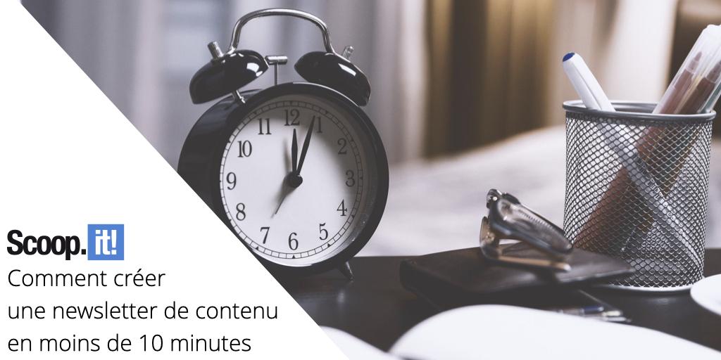 Comment créer une newsletter de contenu en moins de 10 min