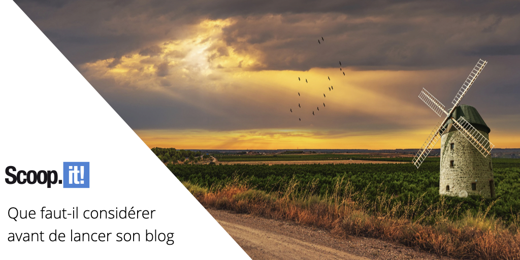 Que faut-il considérer avant de lancer son blog