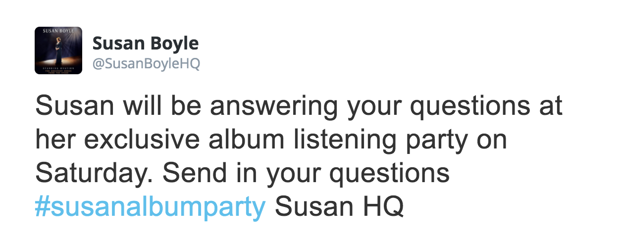 Five years on from #susanalbumparty, we still have some questions    JOE.co.uk