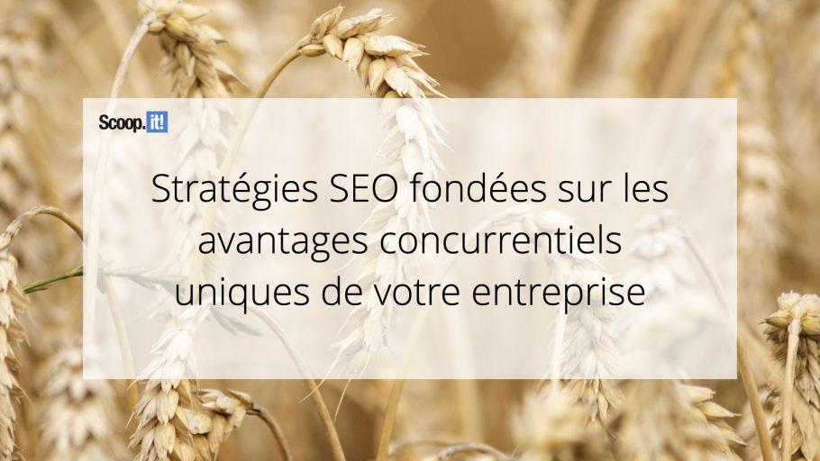 Stratégies SEO fondées sur les avantages concurrentiels uniques de votre entreprise
